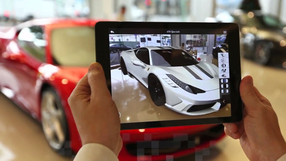 AR-showroom-for-Ferrari-with-ZSpace