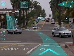 Augmented-reality-to-help-drivers
