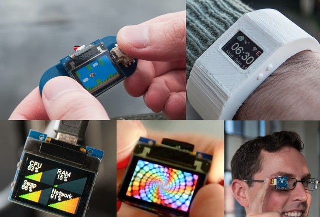 Create-own-smartwatch-or-google-glass-like-device-w-TinyScreen