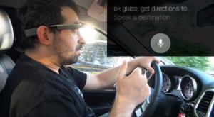 Google Glass  вождению не помеха