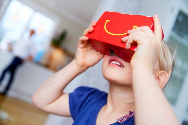 McDonald's-joined-Coca-Cola-in-virtual-reality-headsets