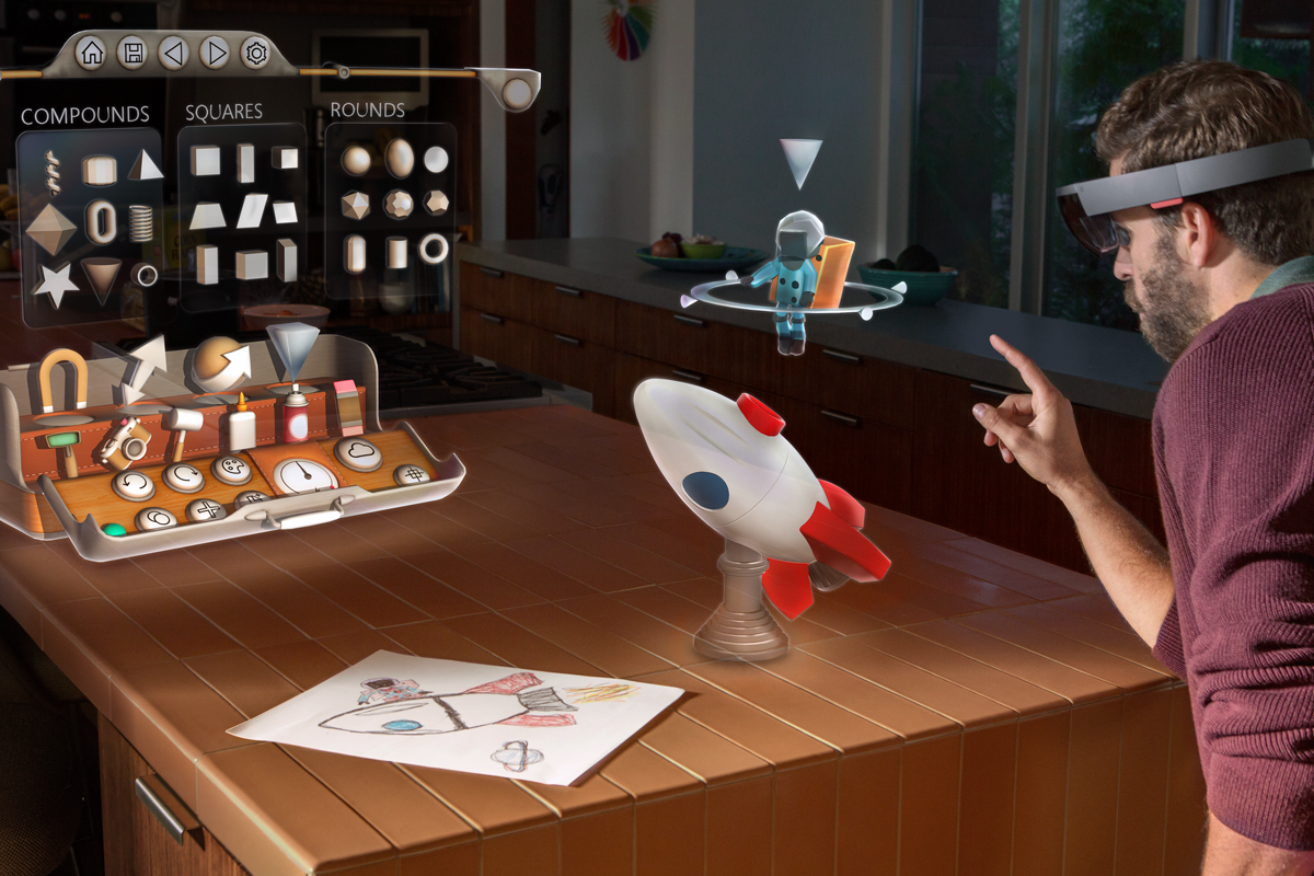 Microsoft Hololens a year later