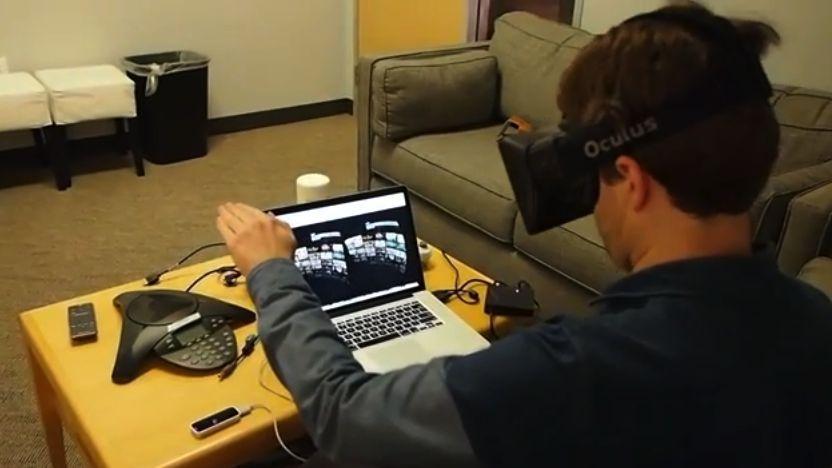 Интерфейс Netflix для Oculus Rift