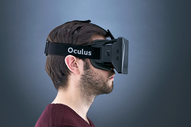 Oculus Ruft Headset Shoot