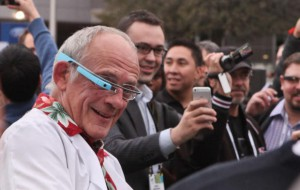 Christopher Lloyd CES-2014 google glass