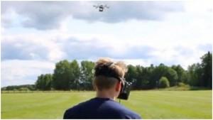 Oculus Drone в действии