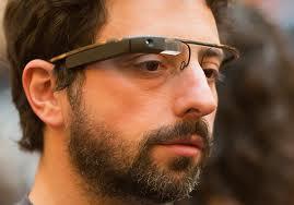 Сергей Брин в Google Glass