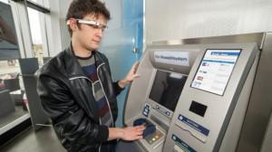 Google Glass и банкомат