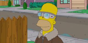 Гомер Симпсон в Google Glass