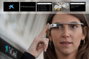 Банк Caixa и Google Glass