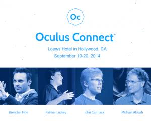 Реклама Oculus Connect