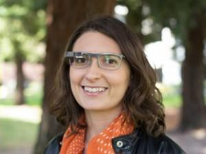 Фото Google Glass с линзами